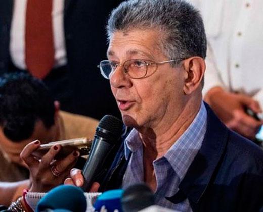 Ramos Allup advierte que TSJ solicitará detención de diputados de Amazonas