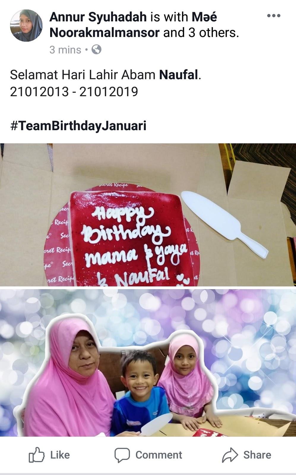 Printcious hadiah birthday