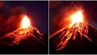 Los volcanes siguen despertando en el planeta.