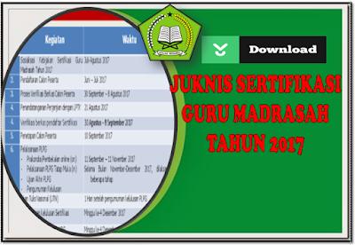 pedoman sertifikasi guru madrasah