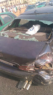 Kaduna Based Rapper 'MÜN' Escapes Car Accident in Abuja