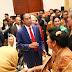 Jokowi dan SBY Bertemu di Ulang Tahun Pernikahan Emas JK