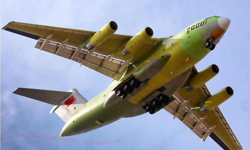 HD Images of Chinese Y-20 Strategic Military Transport ...