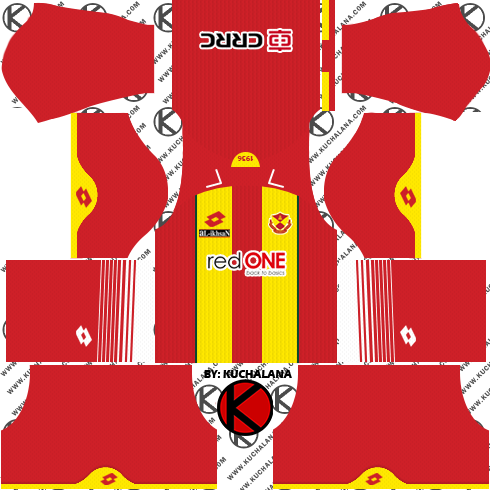 Selangor FA Kits 2018 -  Dream League Soccer Kits