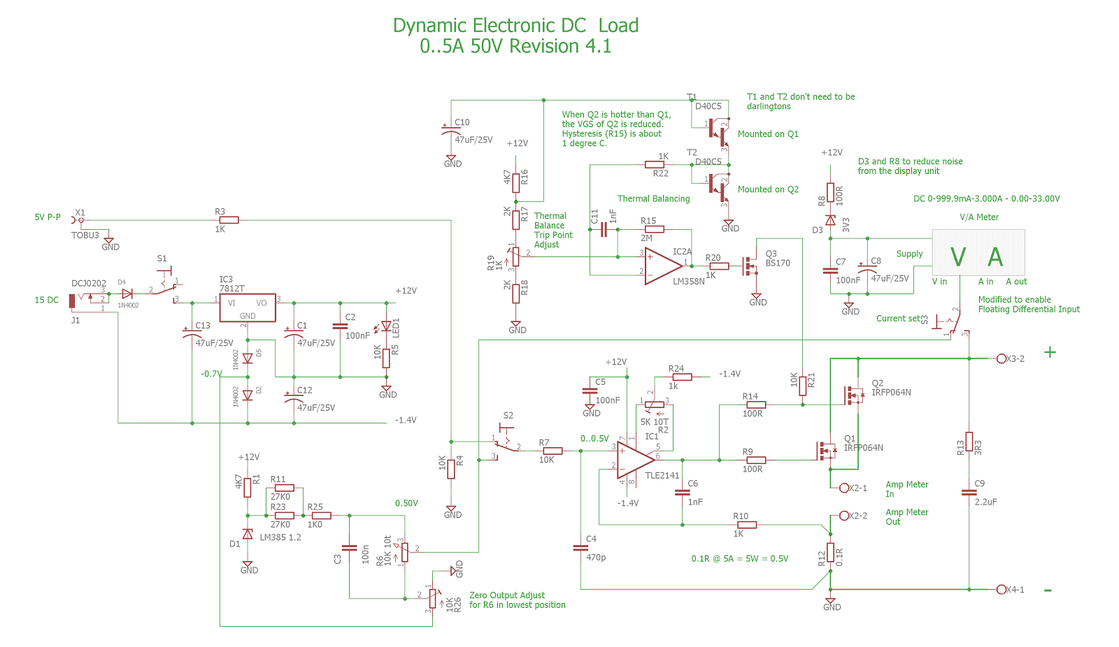 Pauls Diy Electronics Blog 2015 5v To 12v Inverting Switching Regulator Electronicslab While Going Through The Design Of A New Power Supply Post Will Be Coming I Was Not Satisfied With Dynamic Load