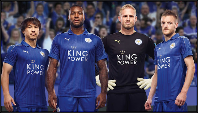 Jersey GO Leicester City Home Terbaru 2016-2017 By Puma