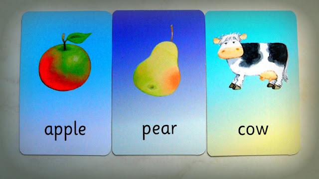 flas cards for preschoolers