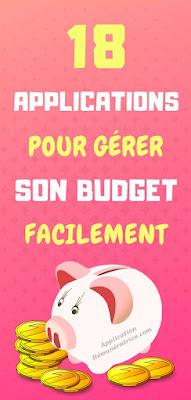 gérer son budget application