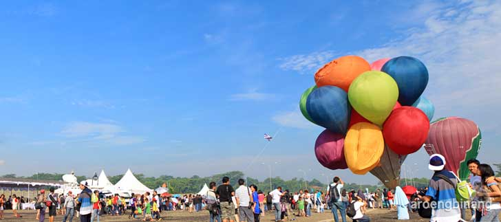 international hot air balloon sentul