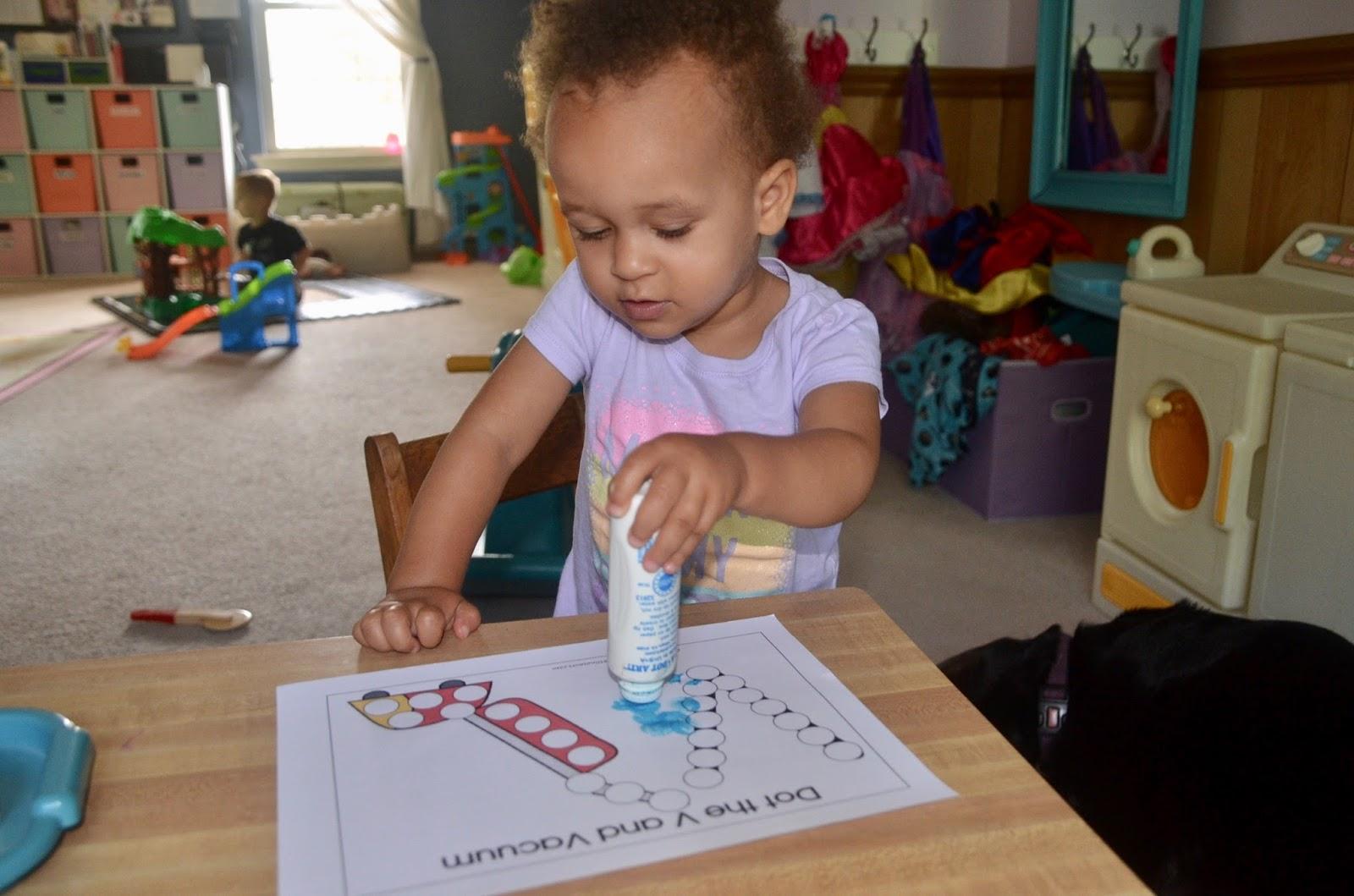 Aunt Tami S House Learning The Alphabet Letter V