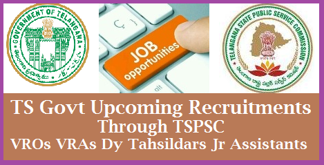 TS Govt Revenue Dept Recruitment of 2506 Dy Tahsildar VRO VRA Posts Recruitment Orders by CM Telangana State Cabinate has given green signal to Recruit 2506 Posts in Revenue Department | TS Govt is going to Recruit VRO Village Revenue Officers VRA Deputy Collectors Deputy Tahsildhar Posts Deputy Surveyors through TSPSC Telangana Public Service Commission ts-govt-revenue-dept-recruitment-vro-vra-tahsildar-surveyors