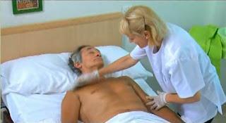 Cómo evitar úlceras en pacientes encamados