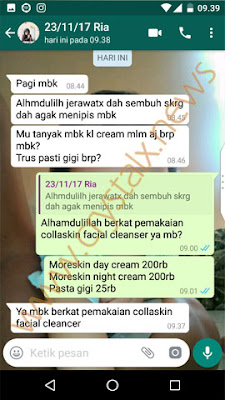 Testimoni Facial Cleanser