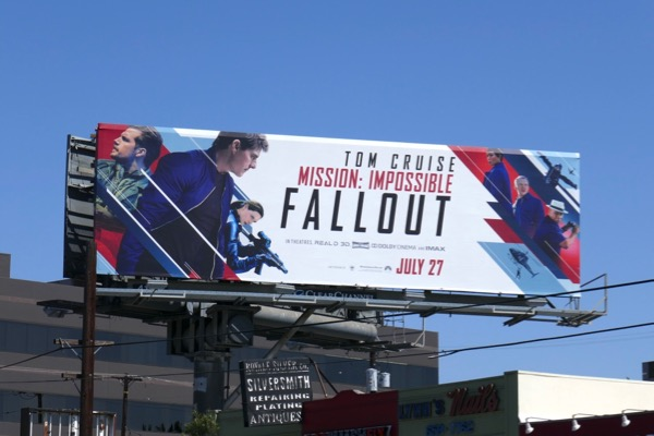 Mission Impossible 6 Fallout billboard