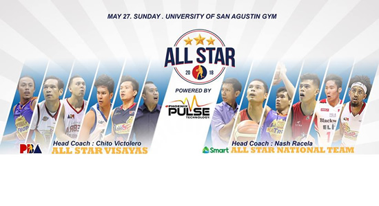 List of Roster Gilas vs Team Visayas PBA All-Star 2018
