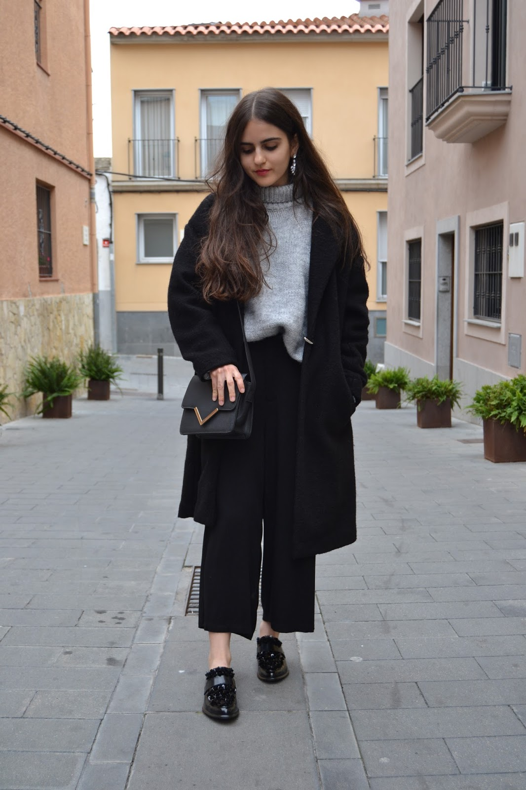 outfit with loafers
