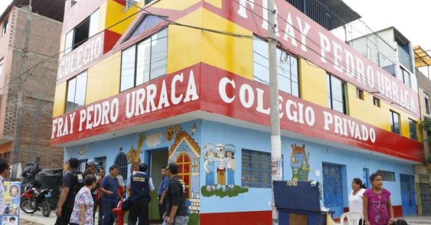 Autoridades clausuran siete colegios ilegales en Independencia