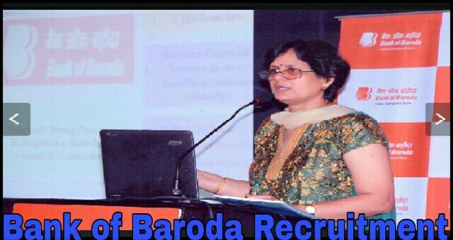 Bank of Baroda Recruitment