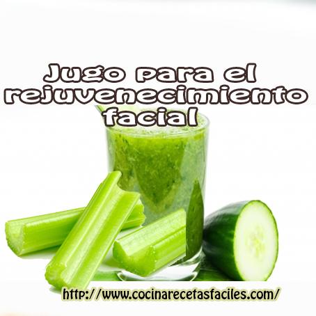 pepinos,celery,té verde