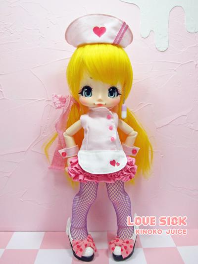 boneca BJD Kinoko Juice