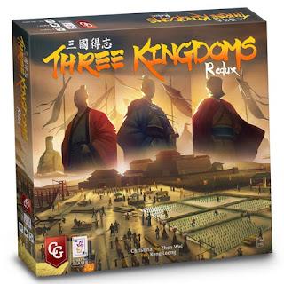 Three Kingdoms Redux & Haspelknecht - The Ruhr Valley