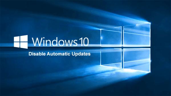 menonaktifkan Update Windows 10