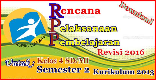[RPP] Rencana Pelaksanaan Pembelajaran Kelas 4 Semester 2 ...