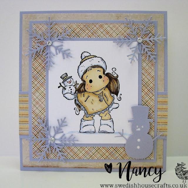 Final Gummiapan Snowman of the Season | By Nancy