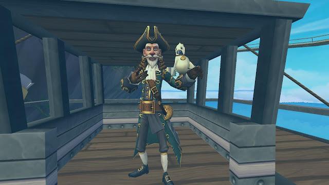 Around the Spiral with Edward Lifegem: Pirate101: Test Realm