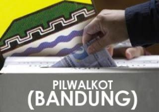 Pilwalkot Bandung 2018 Diikuti 3 Pasangan, Calon Independen Gugur Kurang Dukungan