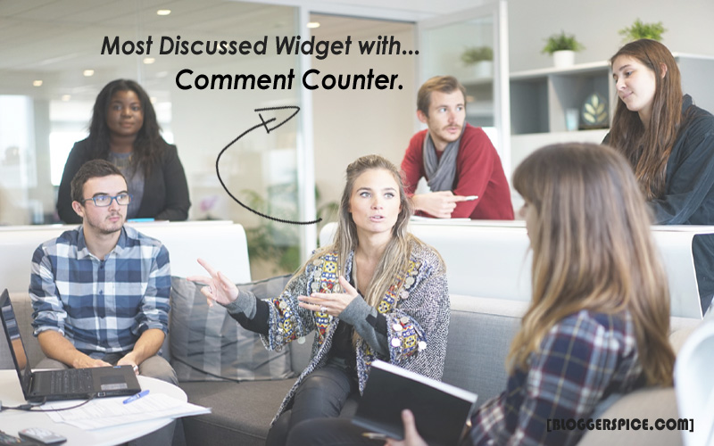 Most commented Widget with Comment Counter for Blogger