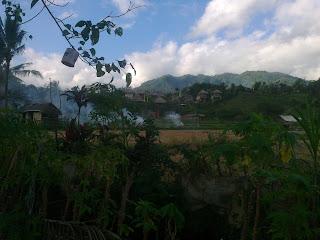 View di Cepik Sidemen Karangasem Bali