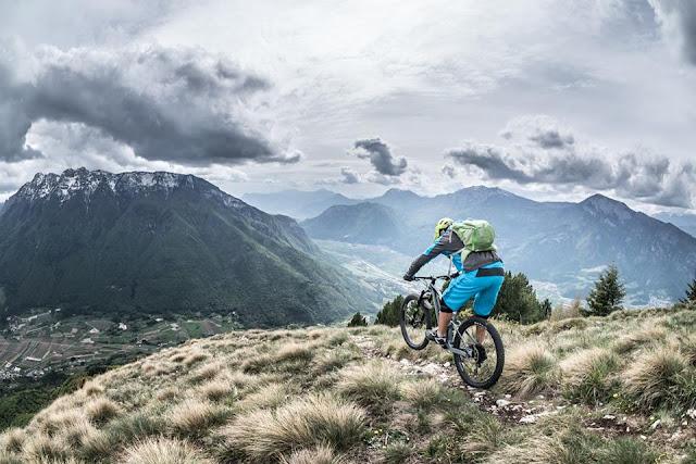 schöne mountainbike tour trento monte marzola