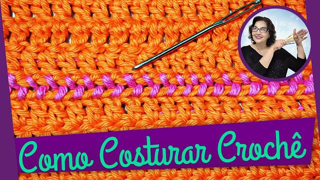 Como fazer Crochê passo a passo para Iniciantes com Edinir Croche