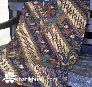 batik solo sogan cap