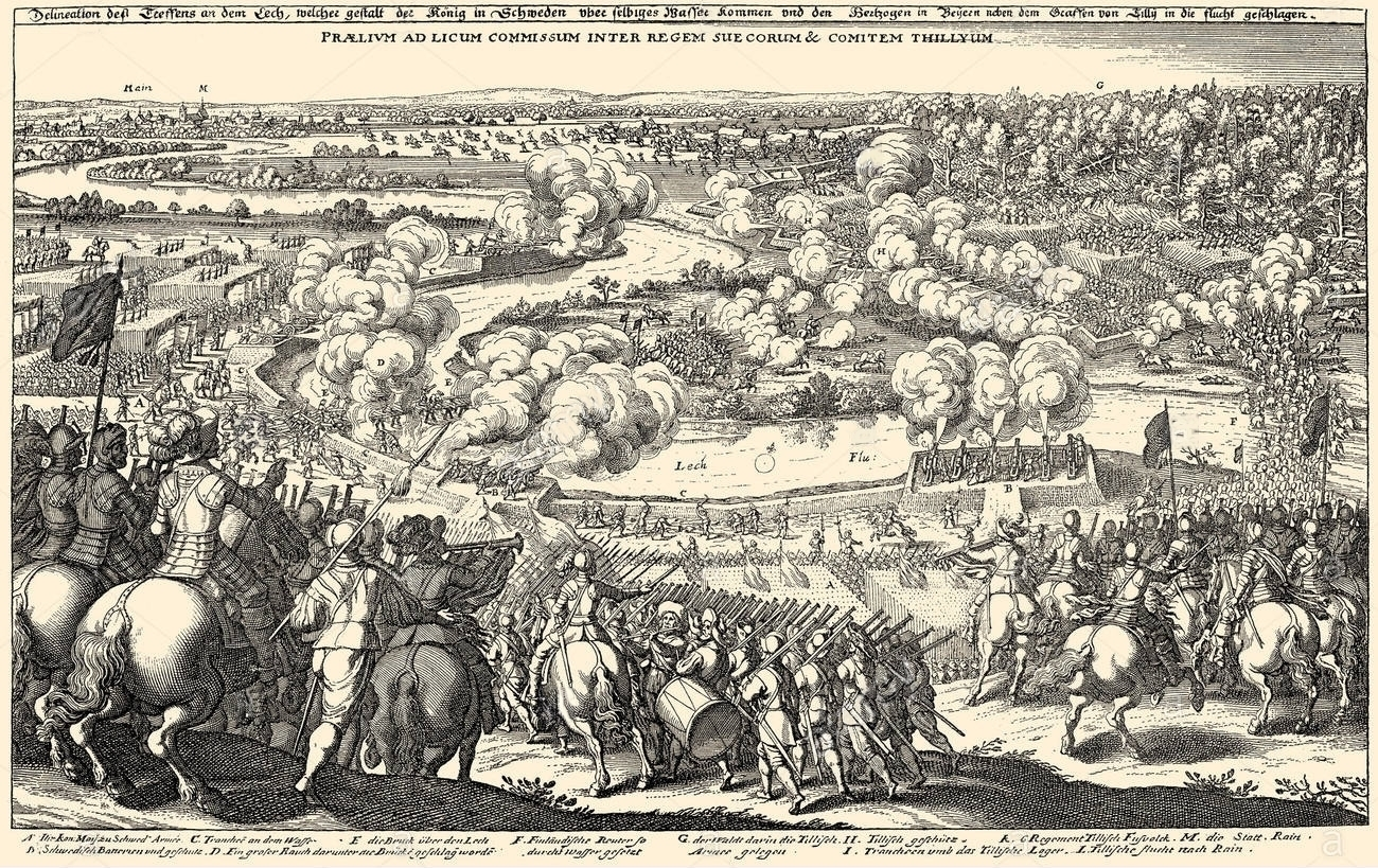 Battle of the River Lech 1632