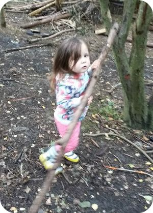 A Visit to Conkers Leicestershire Bushcraft Area