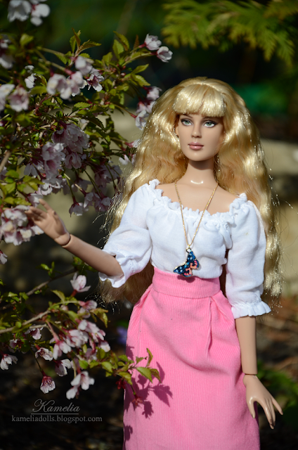 Handmade clothes for doll
