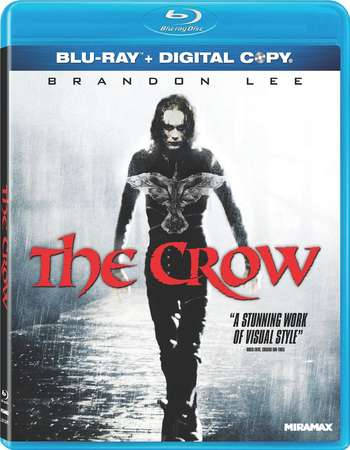 Poster Of The Crow 1994 English 300MB BRRip 480p ESubs Free Download Watch Online