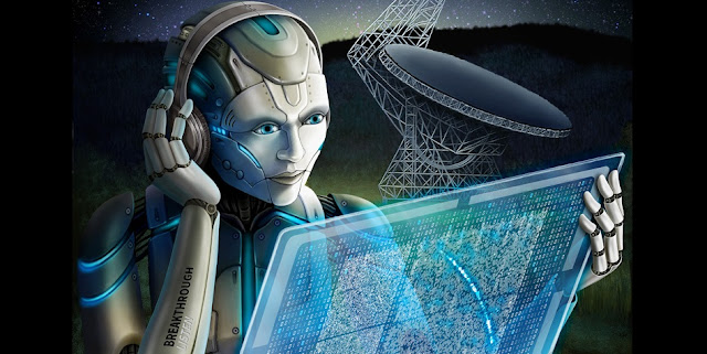 Breakthrough Listen researchers used artificial intelligence to search through radio signals recorded from a fast radio burst, capturing many more than humans could. (Breakthrough Listen image)