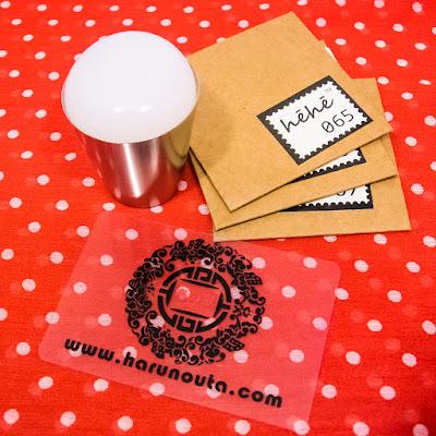 Harunouta HeHe plate stamping