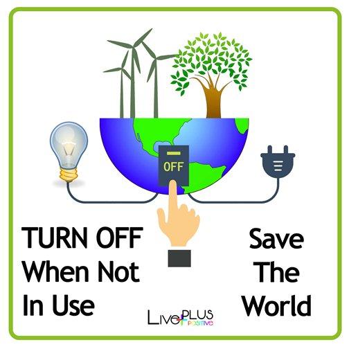 Printable Quot Save Energy Quot Sign Live Plus