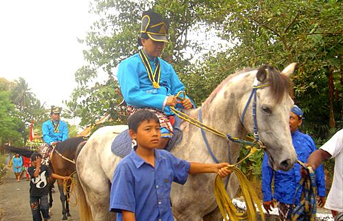 Bergodho or Javanese soldiers
