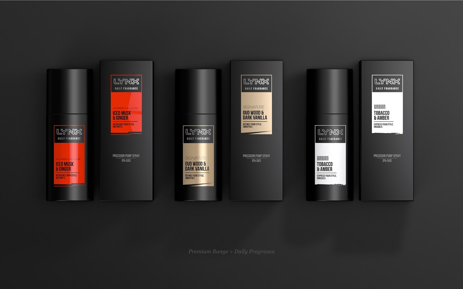 Lynx (Axe) Re-design on Packaging of the World - Creative Package