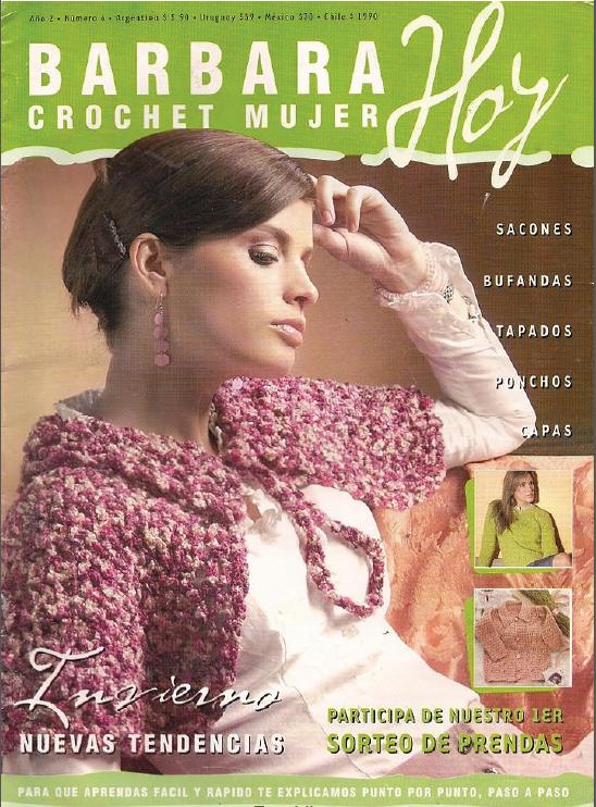 Barbara Hoy, Crochet Mujer Nº 04