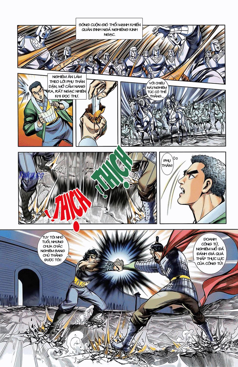 Tần Vương Doanh Chính chapter 11 trang 11