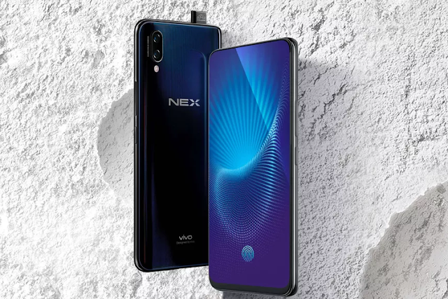 Vivo NEX Ponsel dengan Layar Full Display