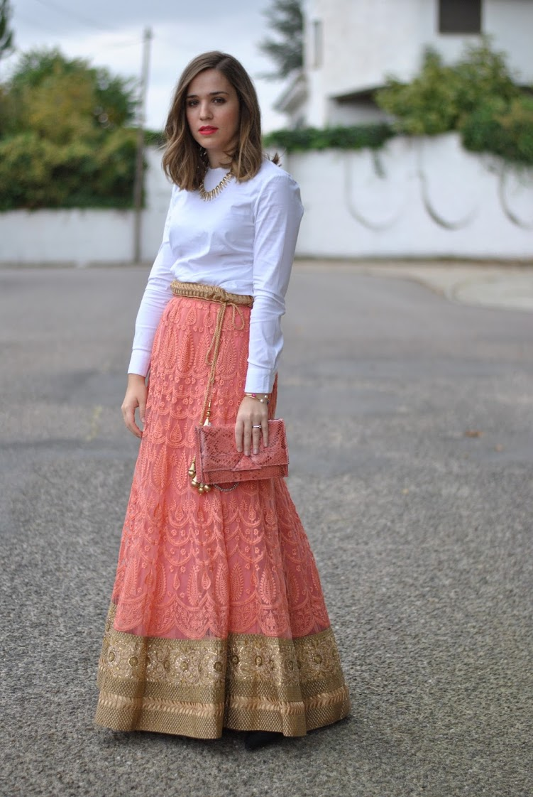 The perfect indian skirt