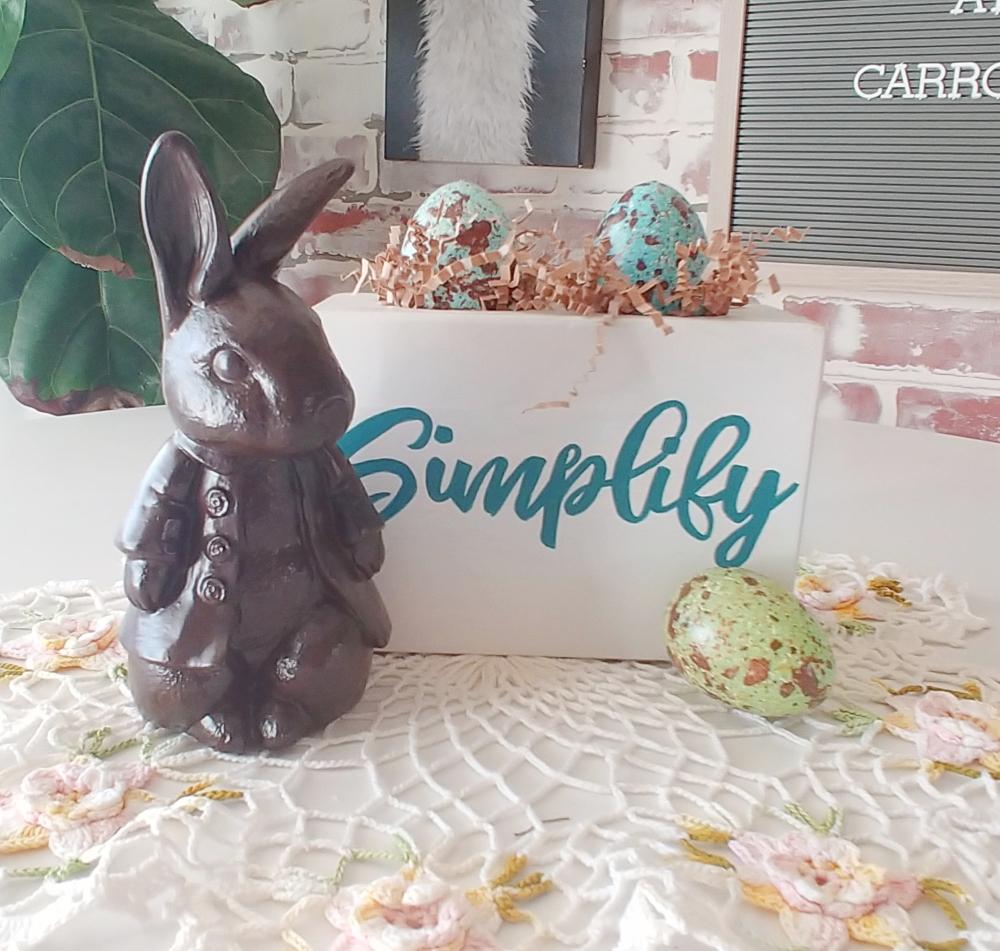 DIY chocolate bunnies how-to