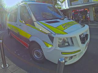 Ambulance with Sunbeam